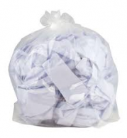Clear sacks