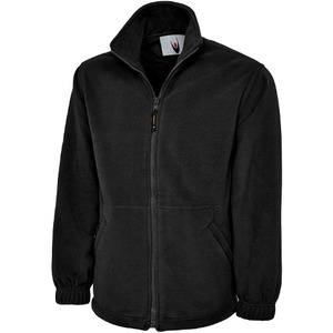 UneekZip_Fleece_Black