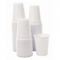 whi plas cups